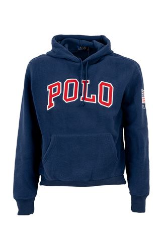 POLO RALPH LAUREN 710763806001-LSPOHOODM2ALL OVER BEAR PRINT