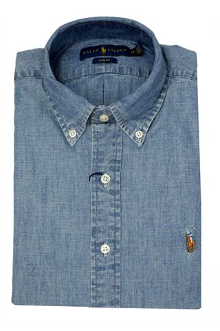 POLO RALPH LAUREN 710548538001-SLBDPPCSPCHAMBRAY