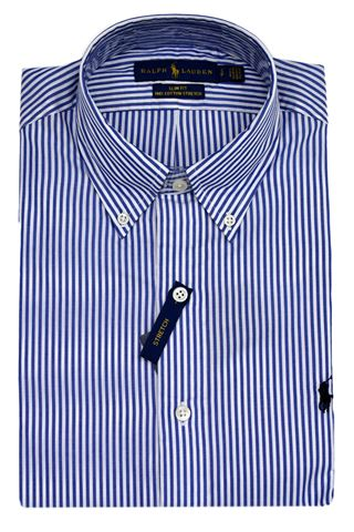 POLO RALPH LAUREN 710705269009-SLBDPPCSPBLUE/WHITE BENGAL