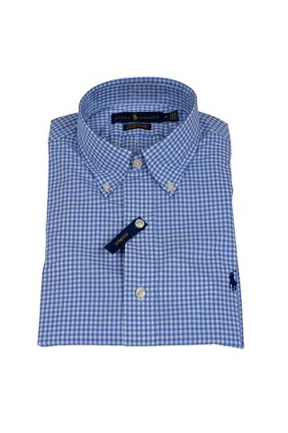 POLO RALPH LAUREN 710792044002-CUBDPPCSBLUE/WHITE CHECK