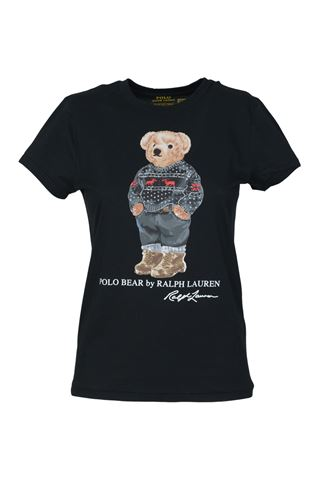 POLO RALPH LAUREN 211846851002-SKIBRLRLTSHORTBLACK